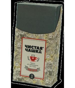 Пакеты для заваривания чая и трав для чайника (бумажные с клапаном)