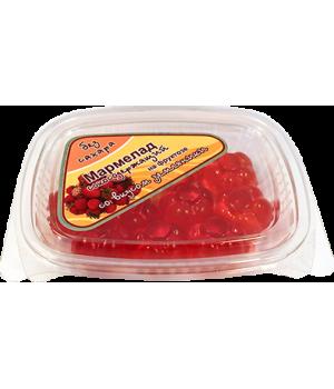 Мармелад сокосодержащий, земляника 140 гр