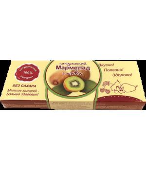 Мармелад натуральный, киви 140 гр