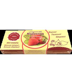 Мармелад натуральный, клубника 140 гр