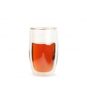"""Необжигающая чашка с двойными стенками """"Лилия-1"""" 450 мл"""