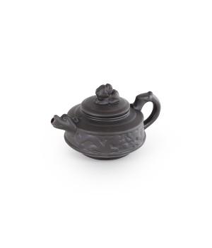 """Чайник из исинской глины """"Драконы"""" 100 мл"""