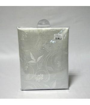 "Скатерть ""EVDY"" серебро (160х220) см"