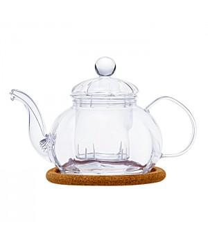 "Чайник стеклянный ""Камелия"" 400 мл"