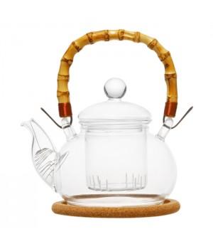 """Чайник стеклянный """"Мак"""" 500 мл"""