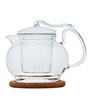 """Чайник стеклянный """"Эдельвейс"""" 600 мл"""