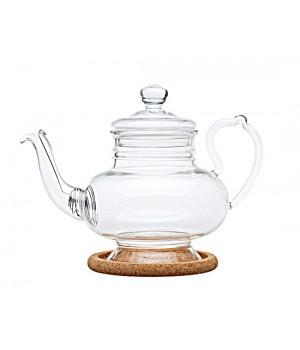 """Чайник стеклянный """"Подсолнух"""" 600 мл"""