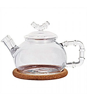 "Чайник стеклянный ""Бамбук средний"" 460 мл"