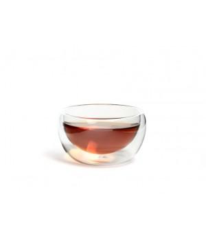 """Необжигающая чашка с двойными стенками  """"Лилия малая""""  100 мл."""