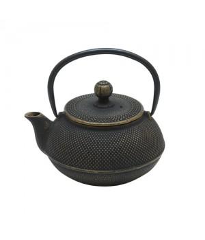 """Чугунный чайник """"Золотистая черепаха"""" 600 мл"""