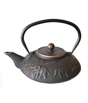 """Чугунный чайник """"Династия"""", объем 1100 мл"""