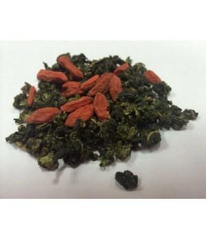 Чай «Улун с ягодами годжи», 100 гр