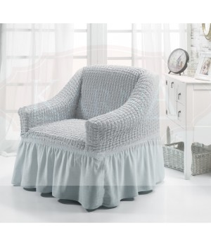 "Чехол для кресла ""BULSAN"" Серый цвет"