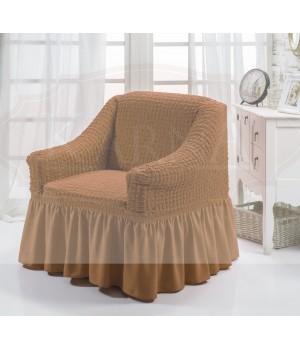 """Чехол для кресла """"BULSAN"""" Горчичный цвет"""