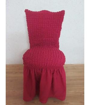 Чехлы на стулья 6 шт. Фуксия