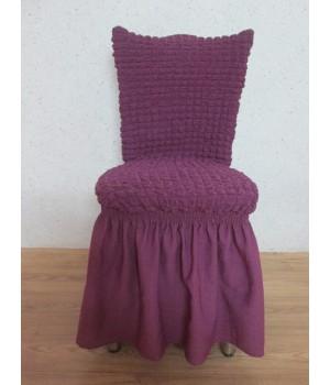 Чехлы на стулья 6 шт. Фиолетовый цвет