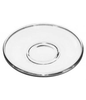 Стеклянное блюдце - розетка 13 см