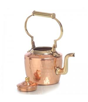 Медный  заварочный чайник 400 мл (Индия)