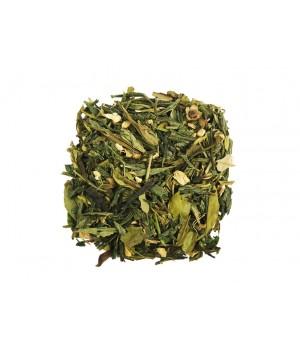 """Чай зеленый ароматизированный """"Зеленый с имбирем и медом"""" 500 гр"""