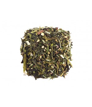 "Чай зеленый ароматизированный ""Имбирный апельсин"" 500 гр"