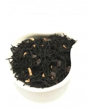 """Черный чай """"Апельсин и шоколад"""" 100 гр"""