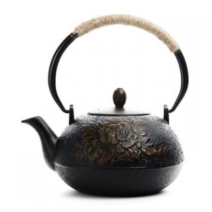 """Чайник чугунный """"Фуцзянь"""", 1100 мл."""