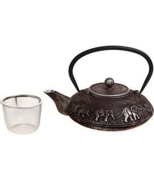 """Чугунный чайник """"Слон"""", 1000 мл"""