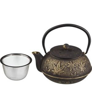 """Чугунный чайник """"Листок"""", 600 мл"""