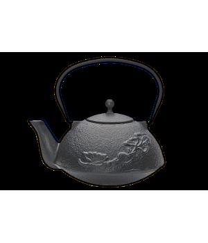 """Чугунный чайник """"Цветок"""", 1000 мл"""