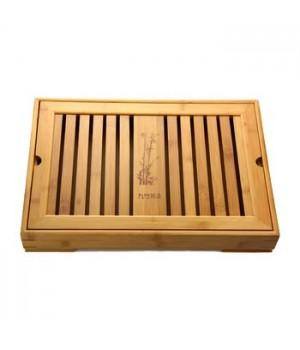 """Чайный поднос """"Бамбук"""" (бамбук) 40 х 28 х 6 см"""