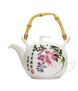 """Чайник керамический """"Сакура"""" 800 мл"""