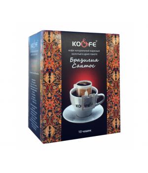 """Кофе в дрип-пакетах """"Бразилия"""" (10 шт)"""