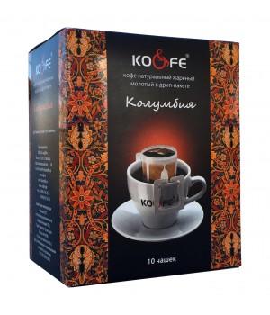 "Кофе в дрип-пакетах ""Колумбия"" (10 шт)"