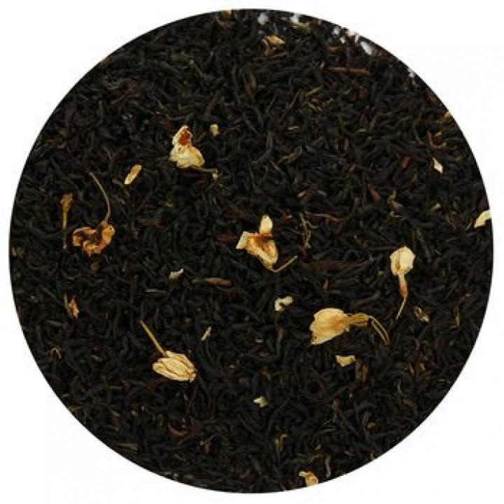 Красный чай с лепестками жасмина, 100 гр