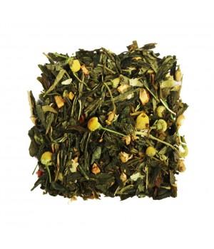 """Чай зеленый ароматизированный """"Японская липа"""" 100 гр"""