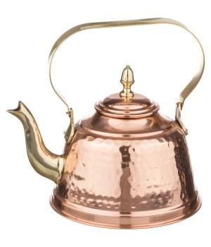 Медный чайник 1200 мл (Индия)