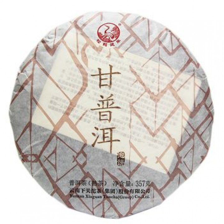 """Шу Пуэр блин 357 г """"Победоносный"""" (фаб. Xiaguan Tea Factory)"""