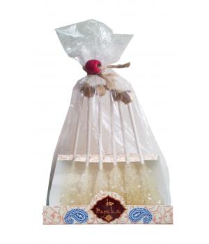 Сахар леденцовый на палочке в упаковке 6 шт. (72 г)