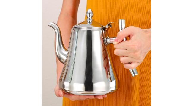 Чайник из нержавеющей стали 1 л