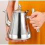 Чайник из нержавеющей стали 1 л с ситом
