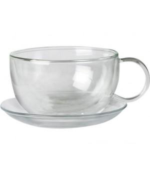 "Чашка с блюдцем ""Тикси"" 360 мл"