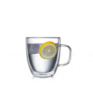 """Необжигающая чашка с двойными стенками """"Сакура-1"""" 480 мл"""