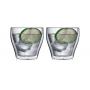 """Необжигающая чашка с двойными стенками """"Лилия-4"""" 260 мл, 2 шт"""