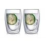 """Необжигающая чашка с двойными стенками """"Лилия-6"""" 340 мл, 2 шт"""