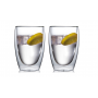 """Необжигающая чашка с двойными стенками """"Лилия-7"""" 430 мл, 2 шт"""