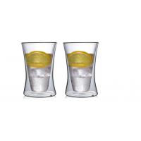 """Необжигающая чашка с двойными стенками """"Лилия-9"""" 260 мл, 2 шт"""