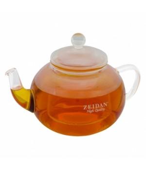"""Чайник стеклянный """"Zeidan"""" 600 мл с колбой"""