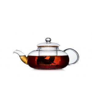 """Чайник стеклянный """"Нарцисс"""" 750 мл, с колбой"""