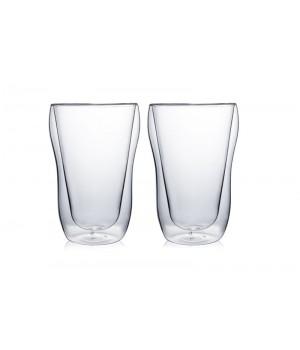 """Необжигающая чашка с двойными стенками """"Лилия-3"""" 250 мл, 2 шт"""