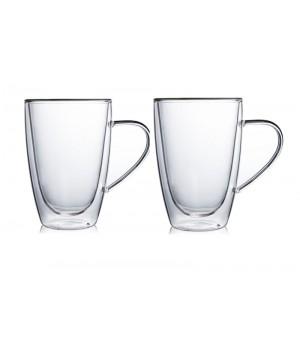 """Необжигающая чашка с двойными стенками """"Сакура-2"""" 310 мл, 2 шт"""